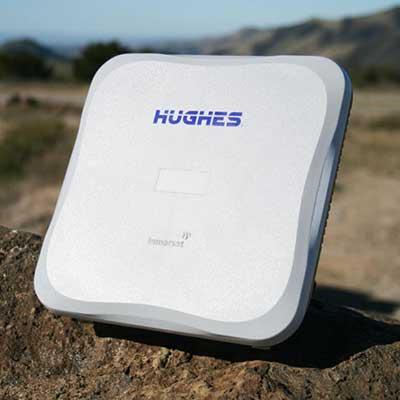 Terminal para Internet satelital Hughes 9202
